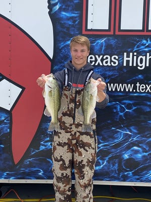 Ben Kirbo finished in 54th place catching two fish weighing 5.07 pounds at the THSBA Regional tournament on Saturday, April 17, at Lake Lewisville.