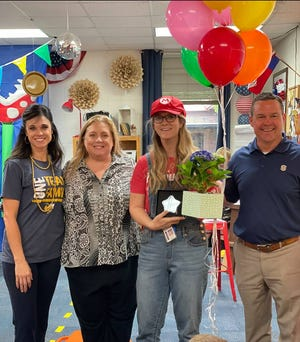 Stephenville ISD recently announced its teachers of the year. Shelley Thomas was named SISD Elementary Teacher of the Year. Thomas teaches fourth grade at Hook Elementary School.