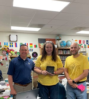 Stephenville ISD recently named its teachers of the year. Amanda Stanfield was named SISD Secondary Teacher of the Year. Stanfield teaches 6th grade social studies and is a Student Council sponsor at Gilbert Intermediate School.