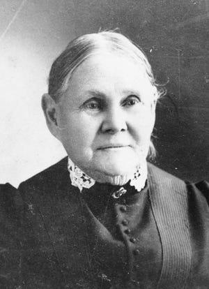 Mary Jane Wyatt Whitaker, wife of William, the first white settler in Sarasota.