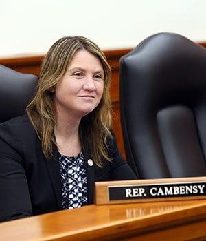 State representative Sara Cambensy, who represents the 109th District of Michigan.