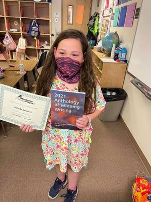 Dale third grader Isabella Swanson.