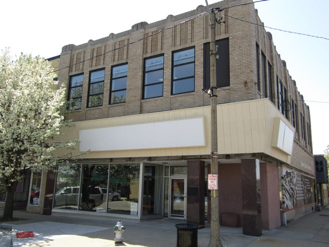 The new home of the museum at 125 N. Chestnut St., formerly The Vogue and Lo Marge's women's clothing stores and, until recent years, Kewanee Hospital's medical supply service.