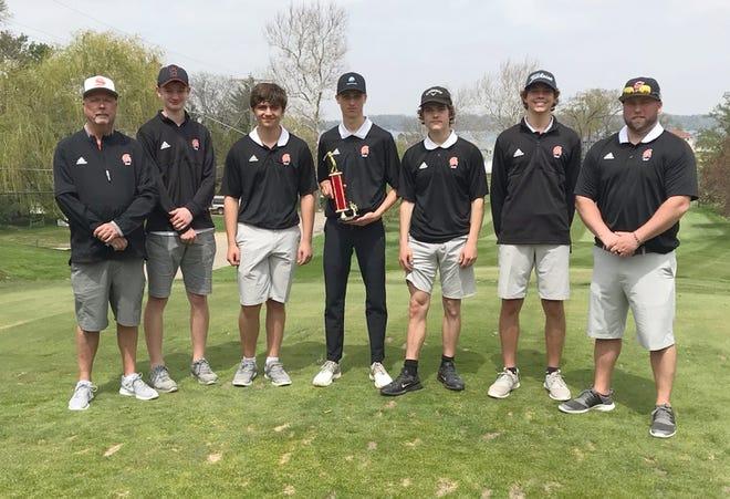 The Sturgis golf team won the St. Joseph County Invitational held on Wednesday at Klinger Lake County Club.