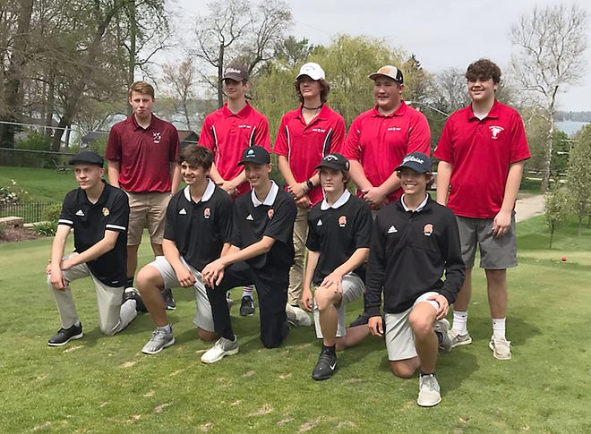 The All-County golf team.