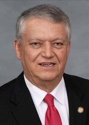 NC Sen. Norman Sanderson (R-Carteret, Craven, Pamlico) a primary sponsor of Senate Bill 355, which would allow the public greater access to the personnel files of state and local government employees. The bill passed the Senate's Judiciary Committee on April 27 and now heads to the Rules Committee. [CONTRIBUTED]