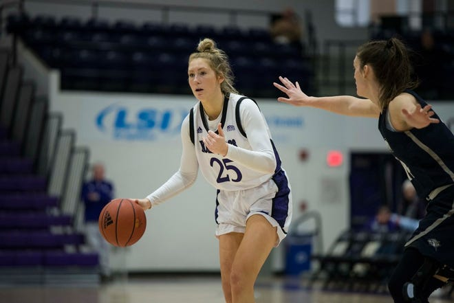 Former Holy Cross standout Lauren Manis is welcoming her WNBA opportunity with the Las Vegas Aces.