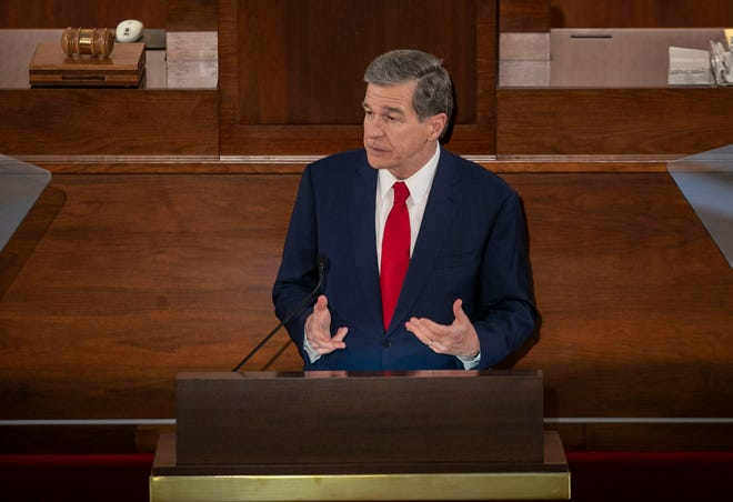 Gov. Roy Cooper scheduled a Wednesday news conference to unveil his recommendations for North Carolina's share of American Rescue Plan funds.
