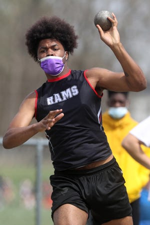 Jaiion Lowe and the Whitehall-Yearling track and field program are preparing for the MSL-Ohio Division meet May 11 and 14 at home. The boys team is the defending champion, having won the title in 2019. The meet was not held last year.