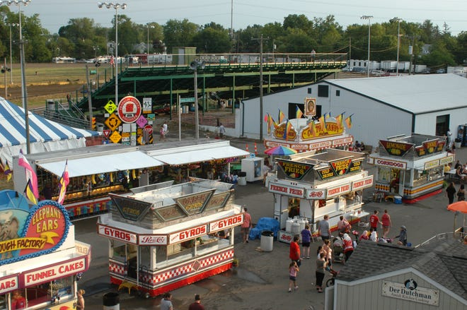 The midway at the 2021 Franklin County Fair, scheduled for July 19-25, will be open to the public this summer and will include food vendors.