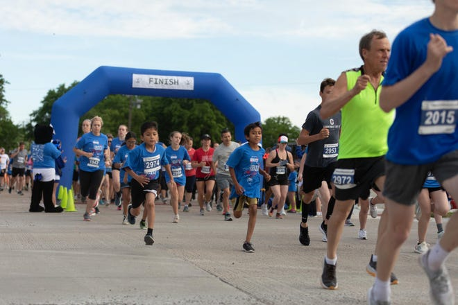 Winners of the various male and female age divisions will be posted both at the race and online.