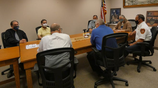 During a Crawford County commissioners meeting Tuesday afternoon attended by Bucyrus city officials and county Auditor Joan Wolfe, the future of ambulance service in the county was discussed.
