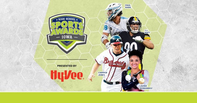 Chipper Jones, T.J. Watt, Laurie Hernandez, Paul Rabil, join the growing list of legendary athletes presenting at the Iowa High School Sports Awards.