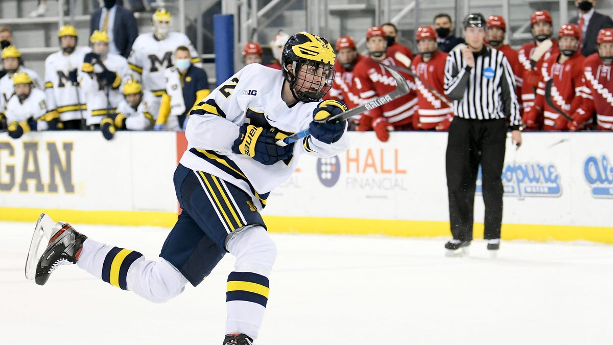 Trio of Wolverines dominate final NHL scouting rankings for 2021 draft 1