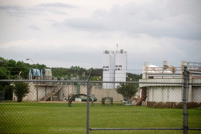 The O.B.Curtis Water Treatment Plant can be seen on on O.B. Curtis Drive in Ridgeland, Tuesday, April 27, 2021. More than $22 million in federal aid is available for the city of Jackson after the recent water crisis. But, the unclear rules and regulations of the funding has created a hold in the progress.