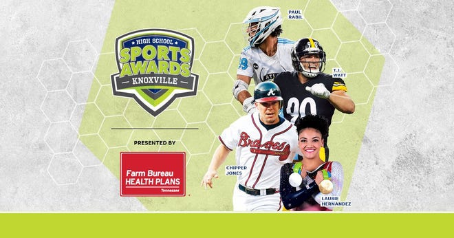 Chipper Jones, T.J. Watt, Laurie Hernandez, Paul Rabil, join the growing list of legendary athletes presenting at the Knoxville High School Sports Awards.