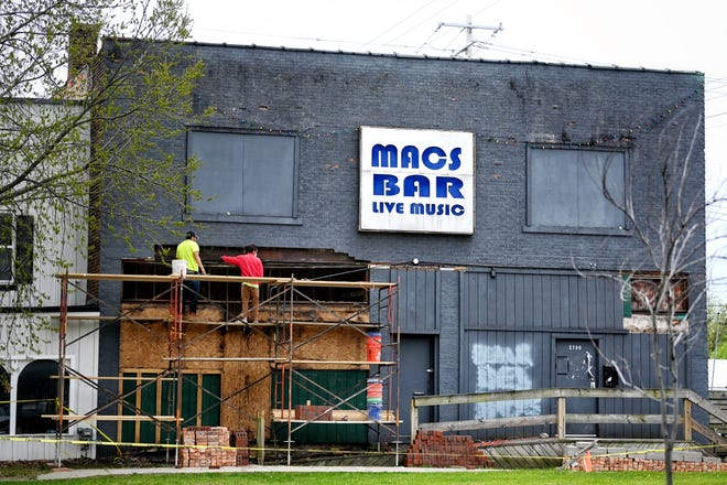 Mac's Bar photographed on Wednesday, April 28, 2021, in Lansing.