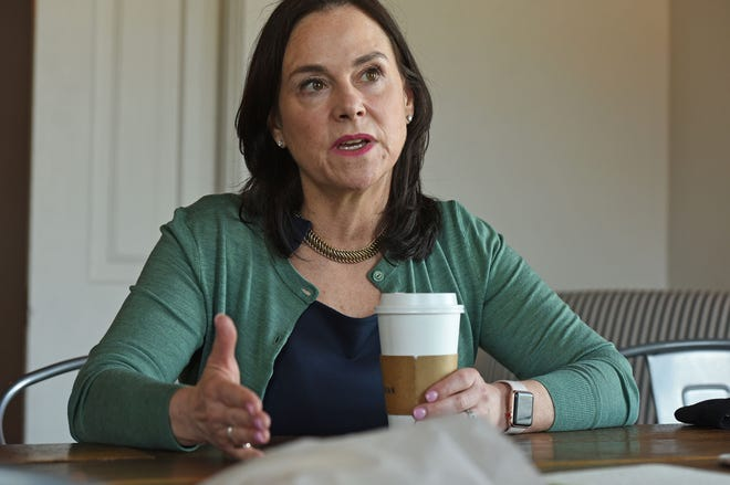 Former Ohio GOP chair Jane Timken discusses her run for U.S. Senate in the seat vacated by the retiring Sen. Rob Portman.