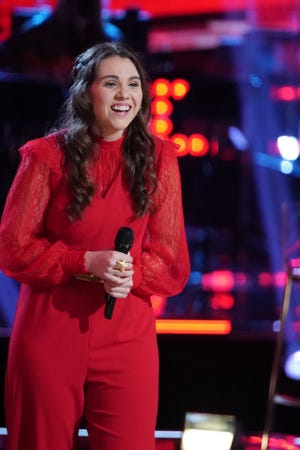 """Milwaukee singer Anna Grace Felten will compete in the live performances on """"The Voice"""" that begin airing May 10."""