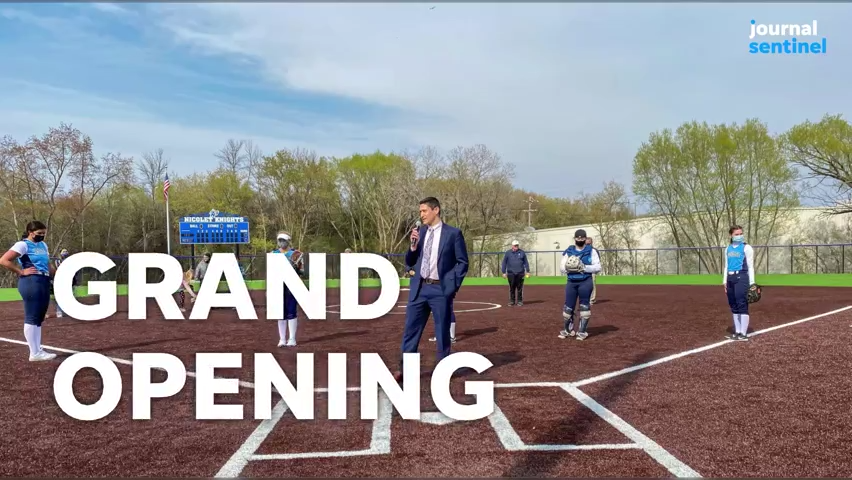 VIDEO: A look at Nicolet's new softball and baseball fields at Maslowski Park