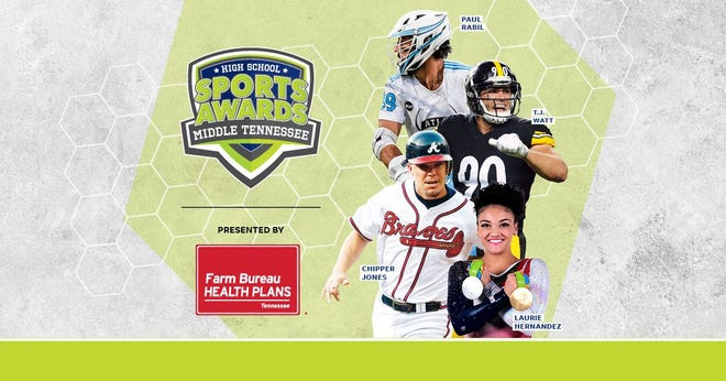 Chipper Jones, T.J. Watt, Laurie Hernandez, Paul Rabil, join the growing list of legendary athletes presenting at the Middle Tennessee High School Sports Awards.