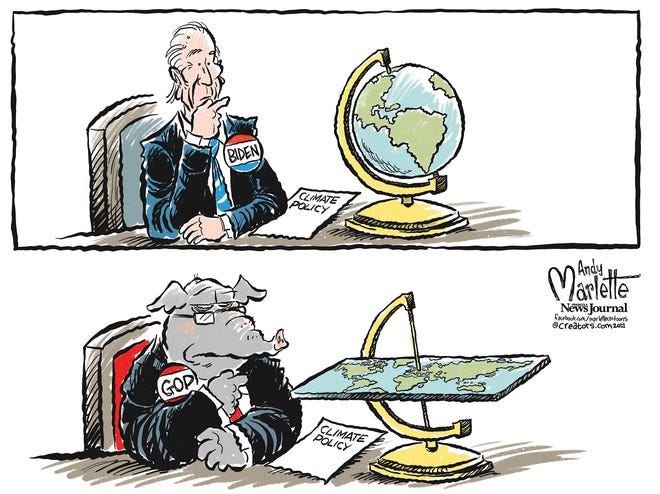 Climate policies.
