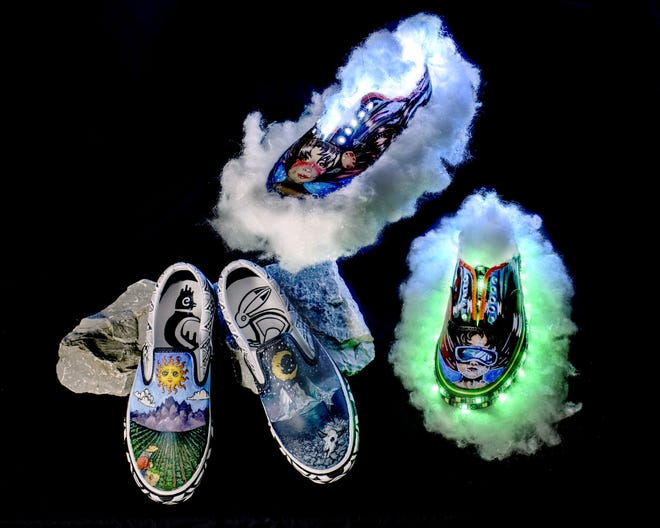 The Deming High School entries by senior Kamryn Zachek and Annette Guzman have qualified for the Top 50 in the nation in the 2021 Vans High School Custom Culture Contest.