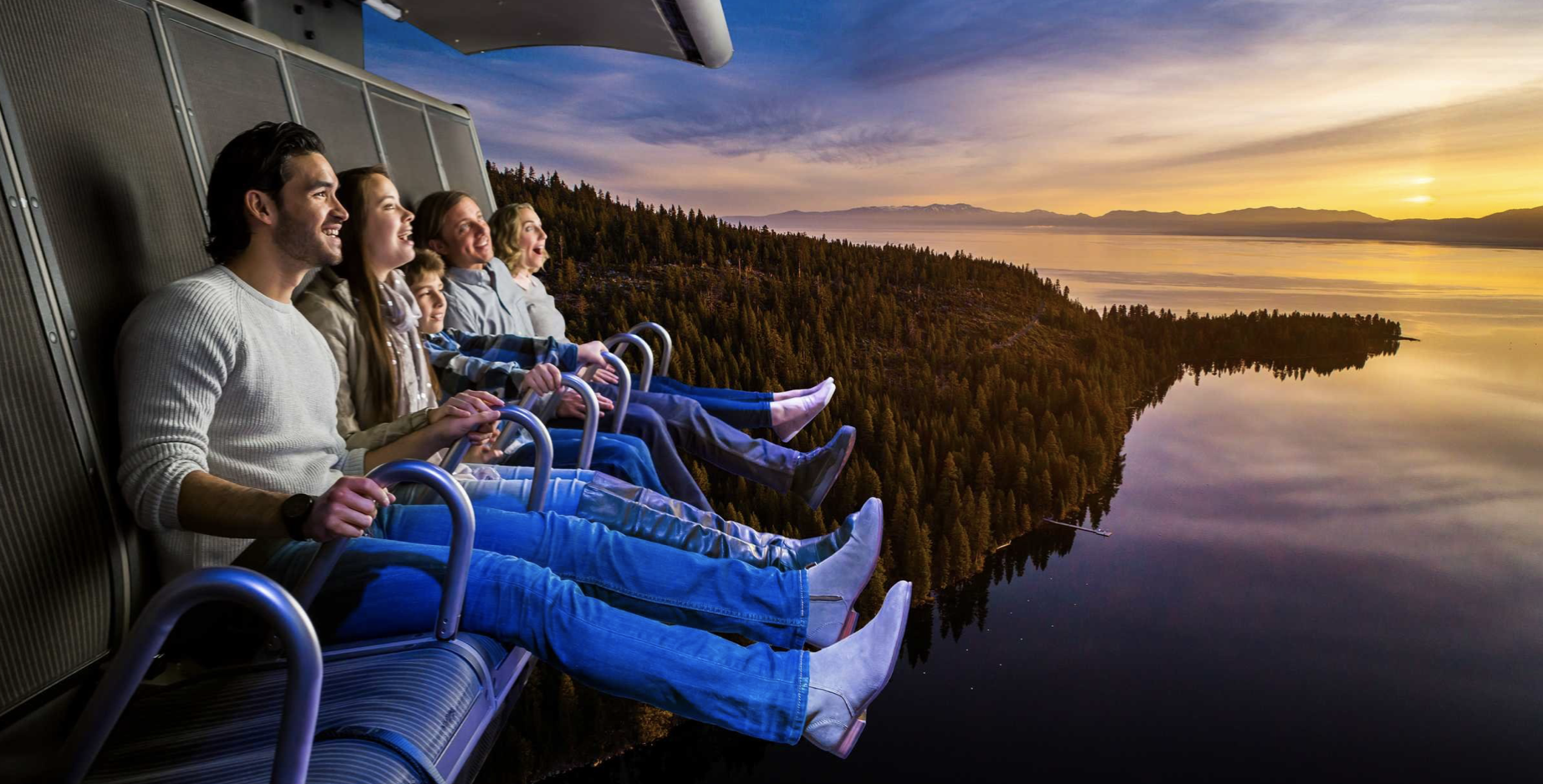 New Las Vegas attraction will dangle tourists over Grand Canyon, Lake Tahoe — without leaving The Strip