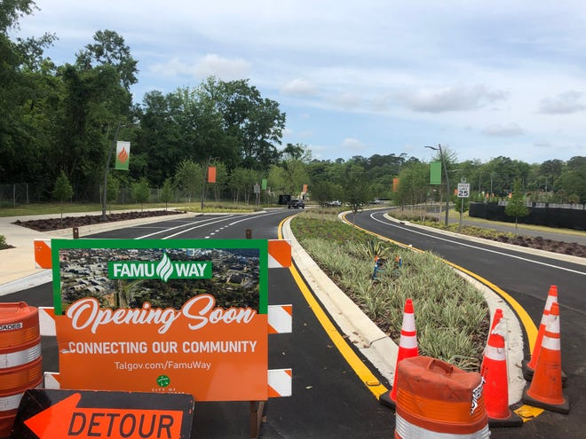 The final leg of FAMU Way is set to open this week, bringing to an end a project meant as an interactive connector road that also doubles as a passive stormwater enhancement.