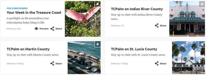 TCPalm's new newsletters