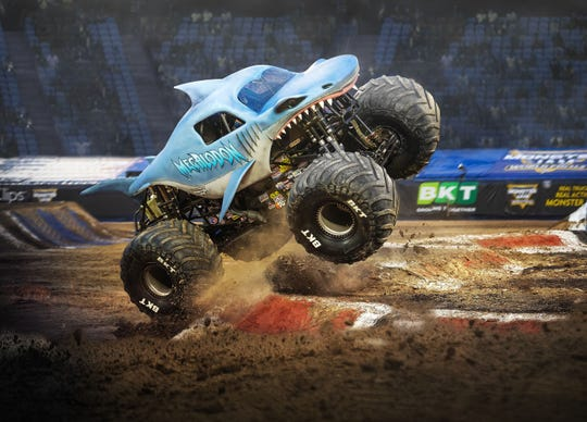 The Megalodon during a recent Monster Jam