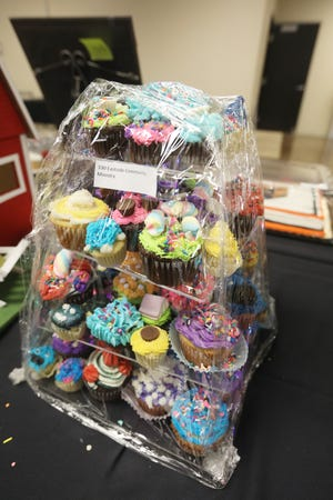 Eastside Community Ministry's entry will go up for auction at the Carr Center Cake Auction at 2:15 pm on Thursday.