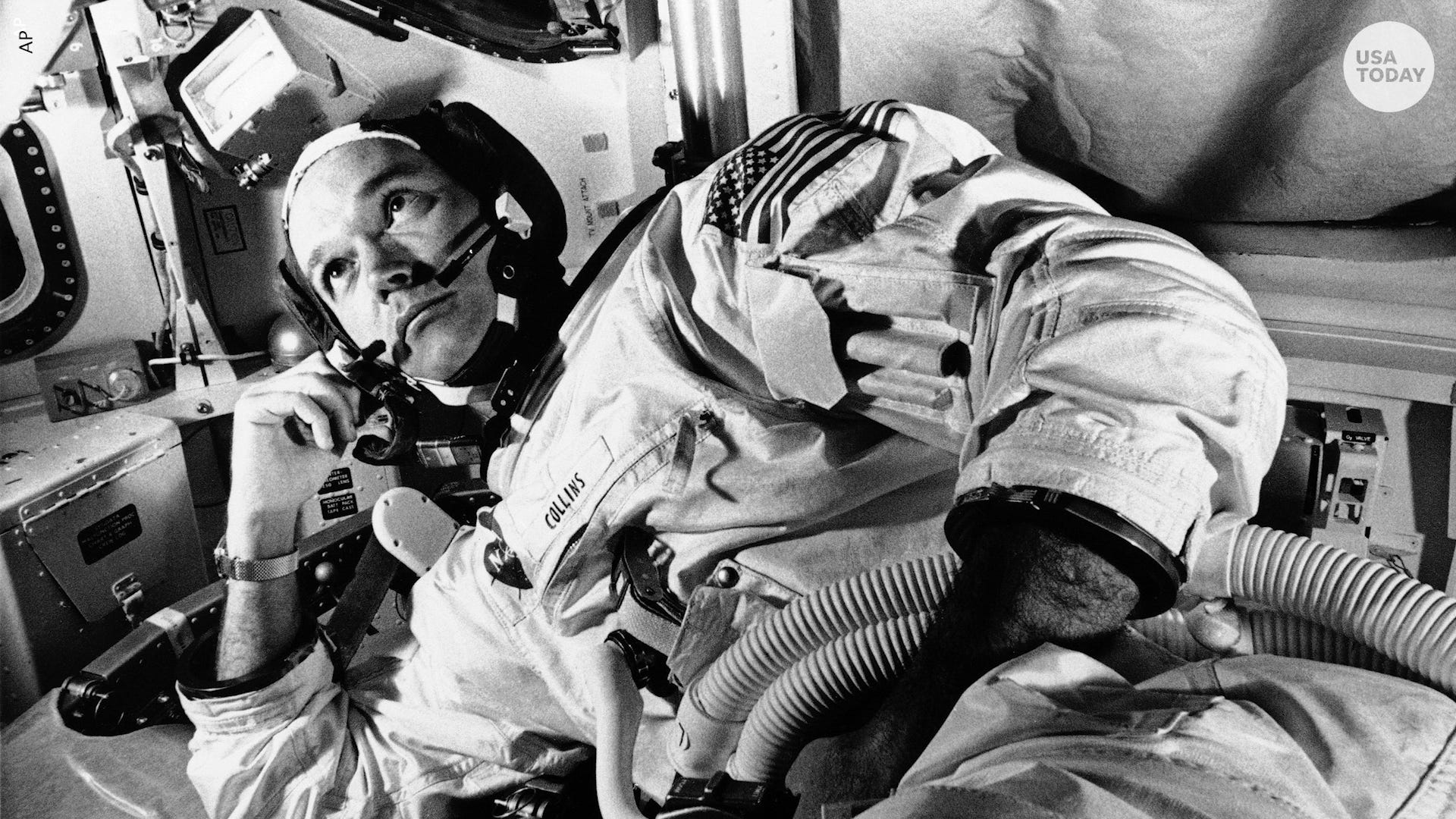 NASA astronaut Michael Collins, pilot of the Apollo 11 mission to the moon, has died