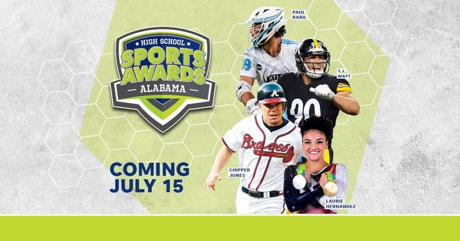 Chipper Jones, T.J. Watt, Laurie Hernandez, Paul Rabil, join the growing list of legendary athletes presenting at the Alabama High School Sports Awards.