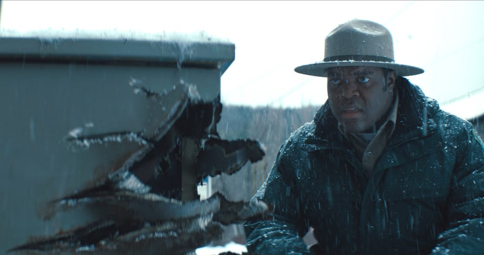 """""""Werewolves Within"""" stars Sam Richardson as a newly arrived forest ranger who has to keep residents of a small town safe from each other, after a proposed oil pipeline causes division, and a vicious beast."""