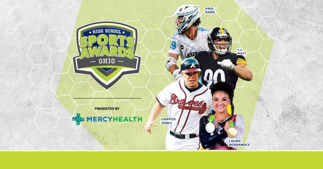 Chipper Jones, T.J. Watt, Laurie Hernandez, Paul Rabil, join the growing list of legendary athletes presenting at the Ohio High School Sports Awards.