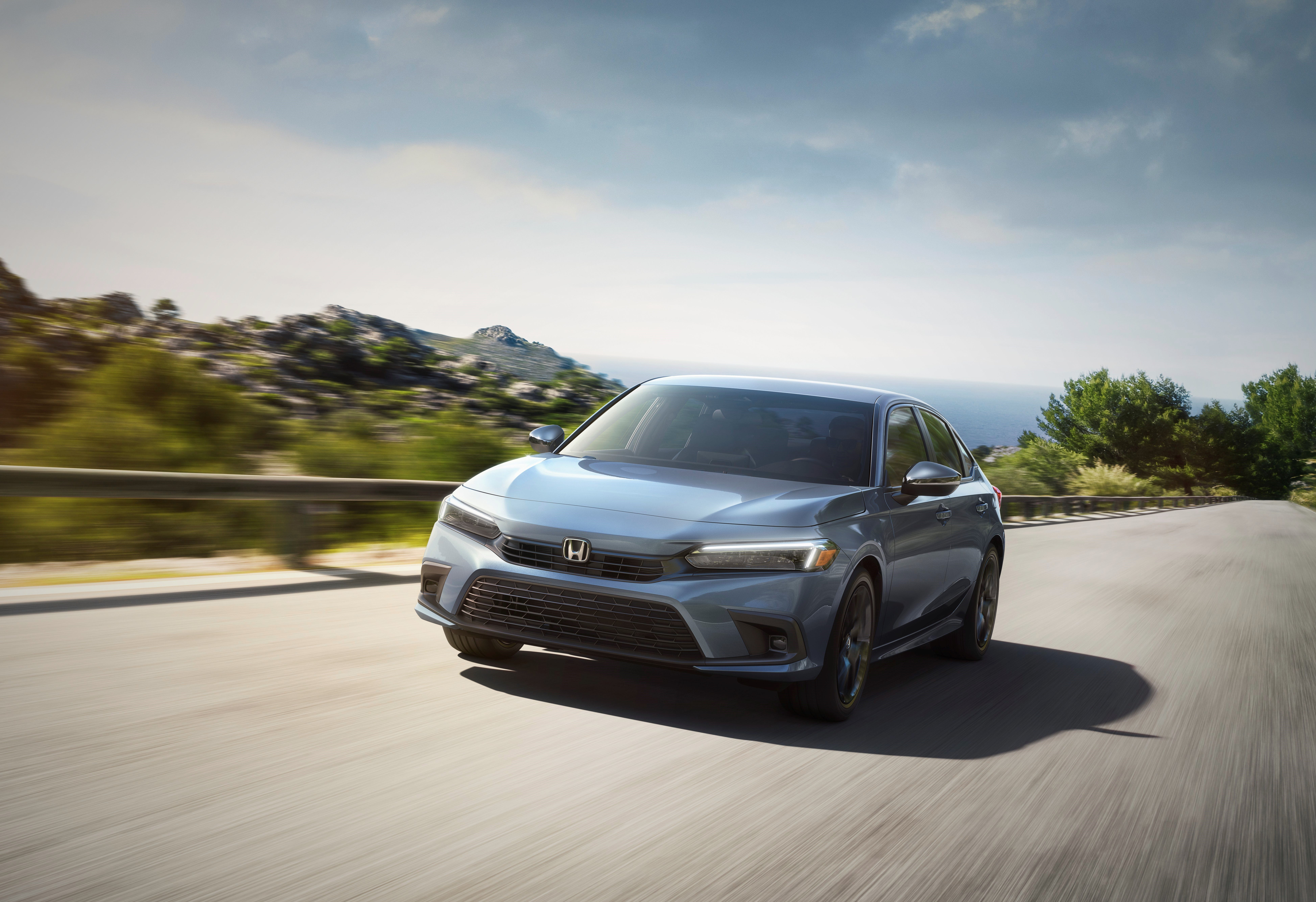 Honda reveals redesigned Civic: Compact car boasts improved fuel economy