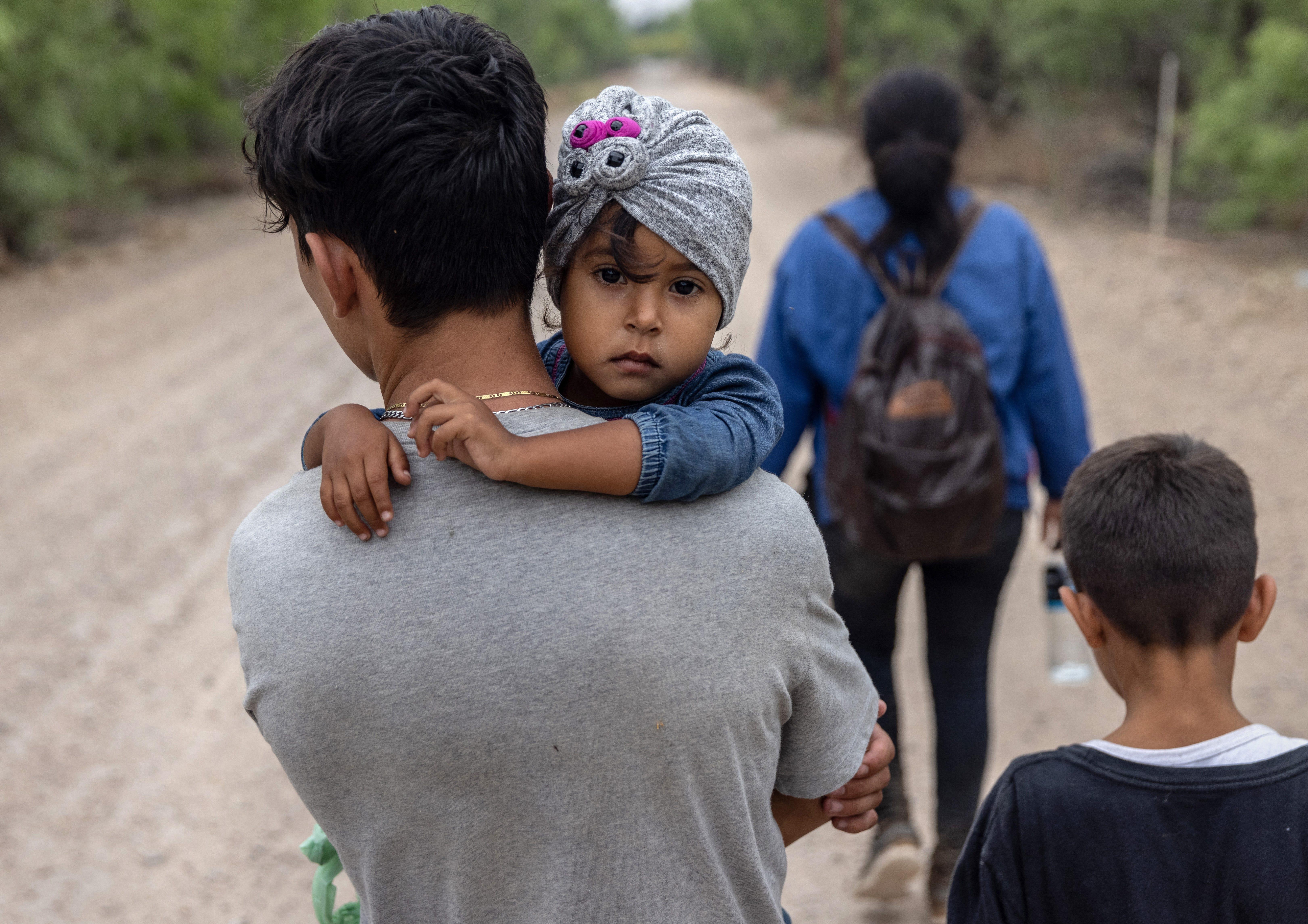 Immigrants at border
