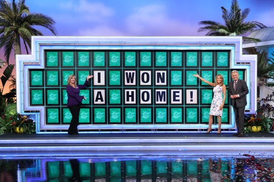 "Laura Trammell made history on ""Wheel of Fortune"" by becoming the first person ever to win a home during the bonus round of the game show on April 27, 2021."