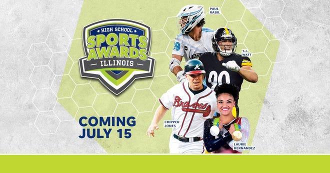 Chipper Jones, T.J. Watt, Laurie Hernandez, Paul Rabil, join the growing list of legendary athletes presenting at the Illinois High School Sports Awards.