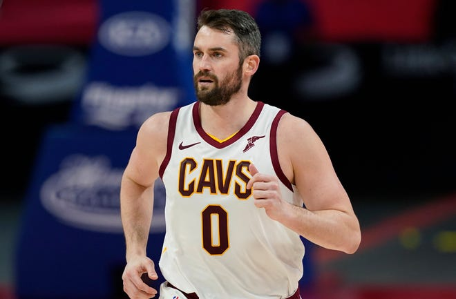 Kevin Love has become one of the leading player voices for mental health advocacy in the NBA.