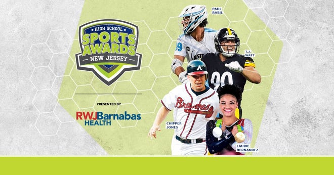 Chipper Jones, T.J. Watt, Laurie Hernandez, Paul Rabil, join the growing list of legendary athletes presenting at the New Jersey High School Sports Awards.