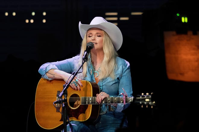 """Miranda Lambert performs during the """"Austin City Limits"""" taping of Jack Ingram, Miranda Lambert and Jon Randall on April 28 at ACL Live. Their episode will air this fall as part of the show's 47th season."""