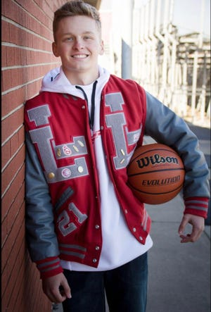 Owen Hinkle's love of sports, as a three sport athlete at Loudonville High, also led to a love of math and a desire to pursue a career as an actuary.
