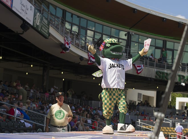 The Augusta GreenJackets have called SRP Park home since 2018 and the ballpark has held a number of events on top of a full slate of baseball games, including concerts, movie nights, comedy shows and wine tastings. [MIKE ADAMS/THE AUGUSTA CHRONICLE]