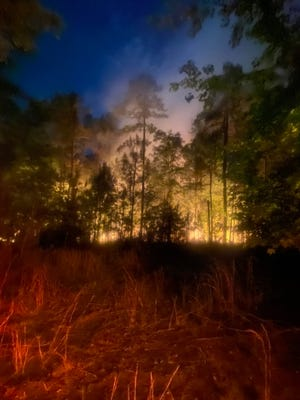 Outdoor burning can quickly get out of control resulting in wildfires. A outdoor burning ban goes into effect in Georgia from May 1 through Sept. 30.