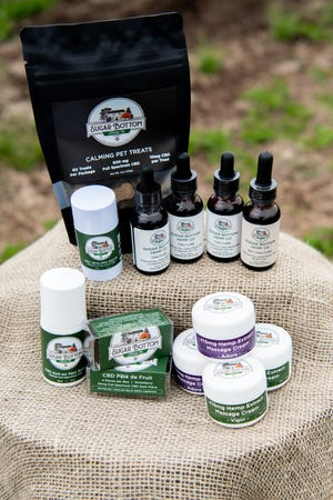 Sugar Bottom Hemp Co. provides a variety of CBD and CBG products, including tinctures, topicals, groceries, and pet products, through its retail and wholesale business.[[[[