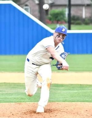 DeRidder pitcher Dawson Hebert fired a no-hitter on Tuesday as he guided the Dragons to a 6-0 victory over the Cecilia Bulldogs in the first round of the Class 4A playoffs.