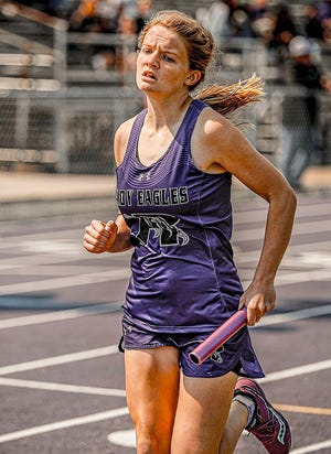 Rosepine runner Sophia Jeffers won first place in the 800-meter run at the Region II-2A championships on Tuesday in Baton Rouge, qualifying for next Friday's state meet.