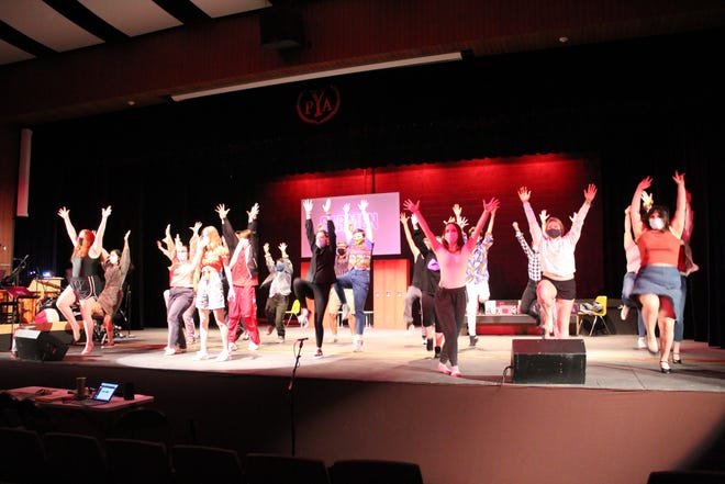 """Discover what it takes to """"live forever"""" this weekend, May 6-9 as the Penn Yan Academy Drama Club presents """"Fame: The Musical."""""""